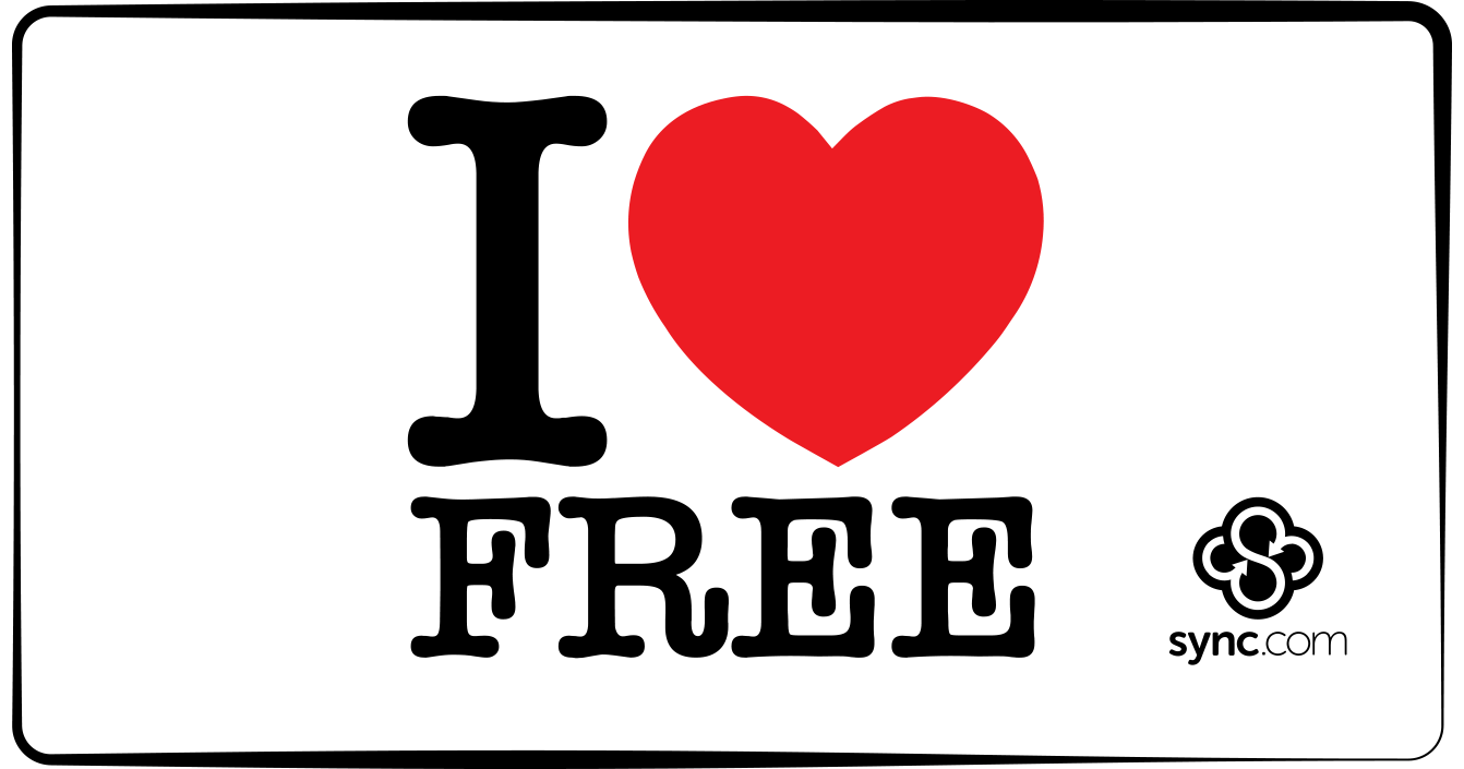 Sync.com free cloud storage