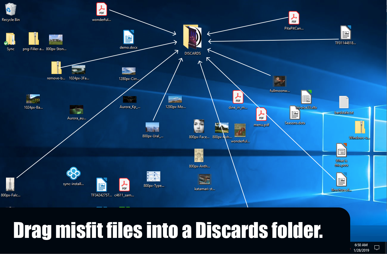 file-organization-discards