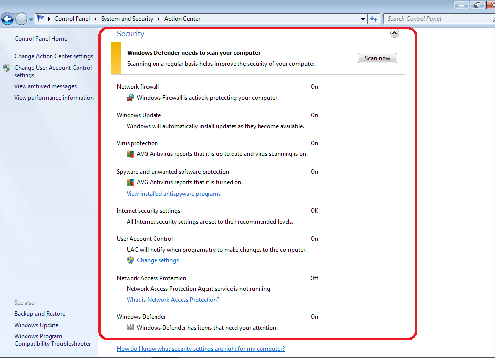 How to find out what Antivirus and Firewall software you