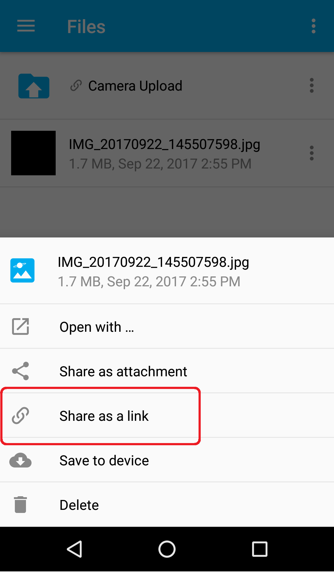 how to create a link