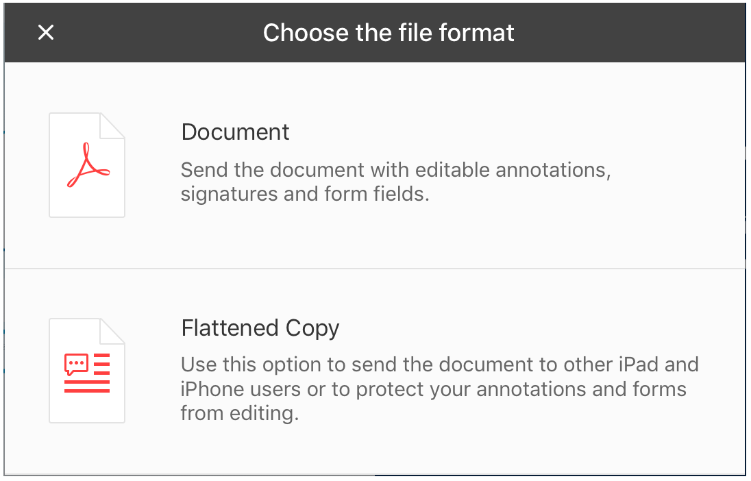 Using the Sync iOS App with PDF Expert