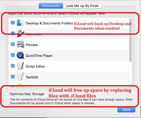 Why do my files have an  icloud extension?